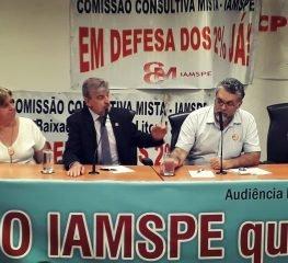 Audiência pública discute riscos do Iamspe com PLC 52/2018