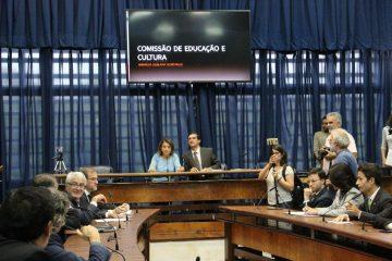 Imagens dos trabalhos da bancada do PT, nesta terça (16) na Assembleia Legislativa de SP