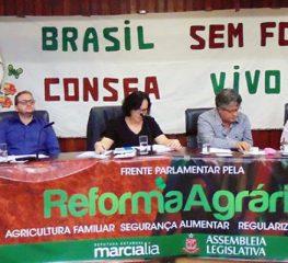 Márcia Lia lança Frente de Ação e Resistência pela Reforma Agrária e Alimentação Saudável