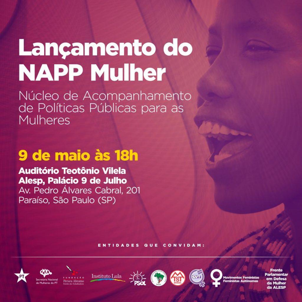 Núcleo de Acompanhamento de Políticas Públicas para Mulheres será lançado na Alesp