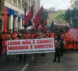 Manifesto de Resistência à Criminalização dos Movimentos Populares
