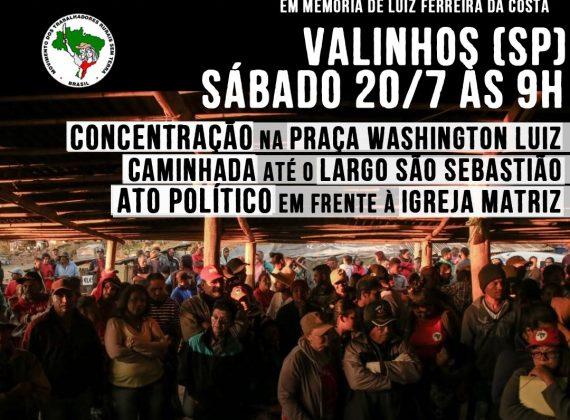 Nota do PT: solidariedade ao MST e pelo fim da violência contra movimentos sociais