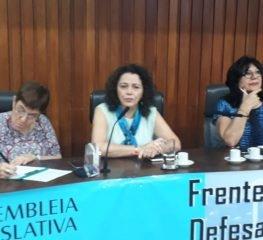 REITORA DA UNIFESP PARTICIPA DE REUNIÃO DA FRENTE EM DEFESA DAS UNIVERSIDADES