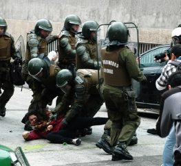 Solidariedade ao povo chileno e a María Rivera