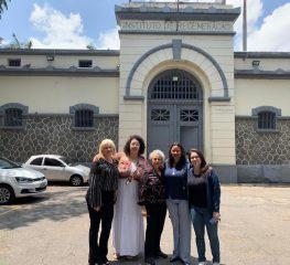Mulheres Petistas visitam Edinalva Franco, uma presa política dos movimentos de moradia
