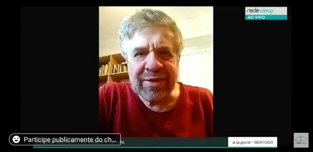 JOSÉ AMÉRICO PLEITEIA SUB-RELATORIA DE SAÚDE NA CPI DAS QUARTEIRIZAÇÕES