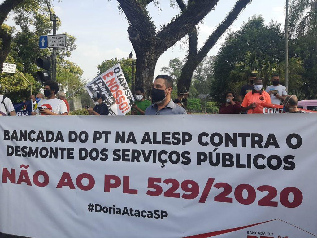 BANCADA PETISTA APOIA ATO CONTRA O PL 529/2020