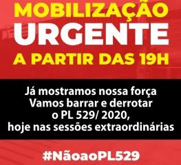 GOVERNISTAS CONVOCAM DUAS SESSÕES EXTRAS COM PL 529 E TENTAM CENSURAR OPOSIÇÃO
