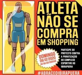 Não à demolição do Complexo Esportivo do Ibirapuera