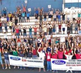 Trabalhadores aprovam audiência pública em defesa dos empregos na Ford
