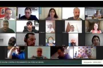 Audiência pública: trabalhadores reagem ao fechamento das fábricas da Ford no Brasil
