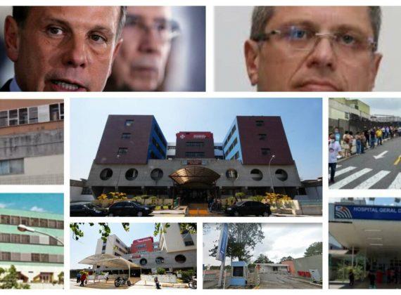 Doria corta R$ 689 milhões da Saúde, fecha serviços de excelência e provoca desassistência